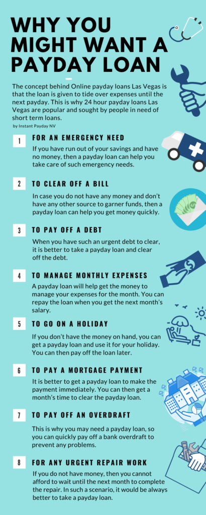 why you might want a Payday Loan