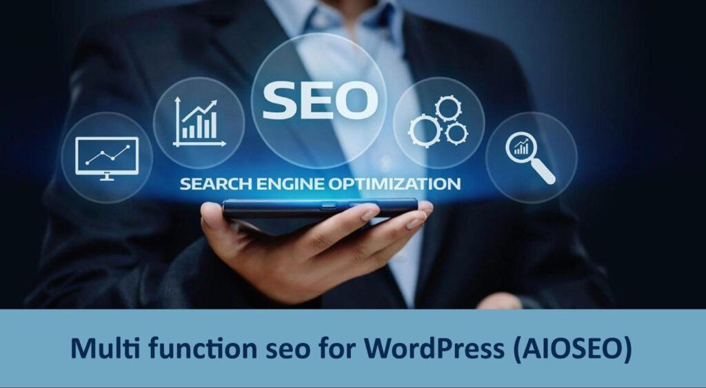 Multi function seo for WordPress
